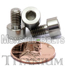 M5 Titanium Socket Head Cap screws DIN 912 / ISO 4762 - Monster Bolts