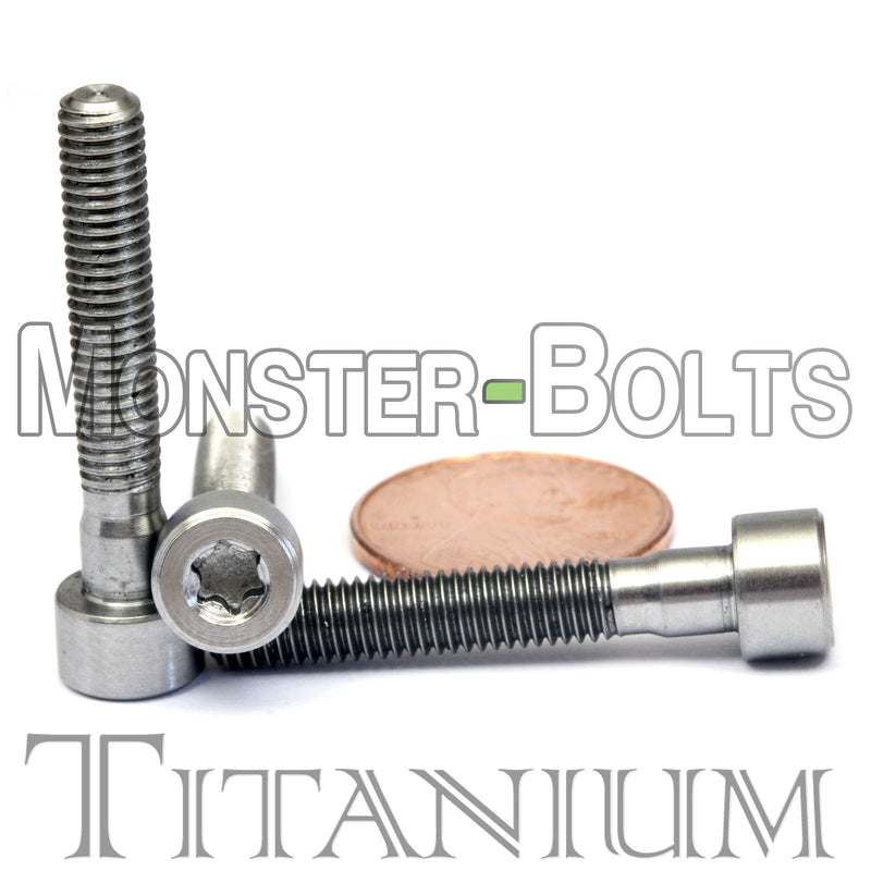 M5 Titanium Torx Socket Head Cap screws DIN 912 / ISO 4762 - Monster Bolts