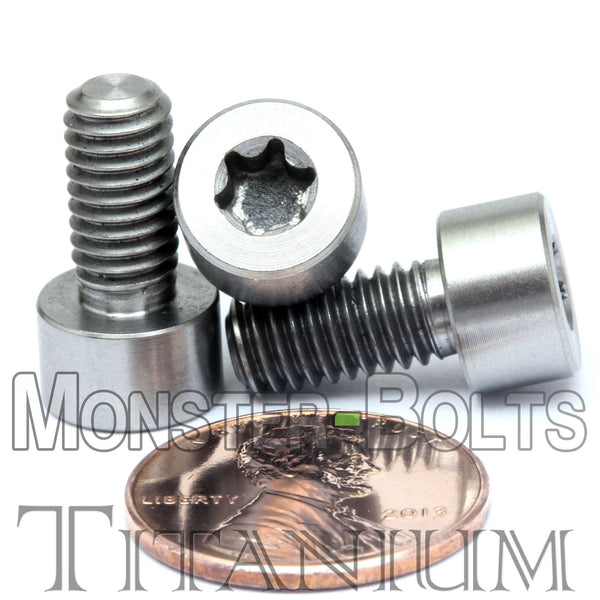 M6 Titanium Torx Socket Head Cap screws DIN 912 / ISO 4762 - Monster Bolts