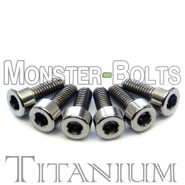 Titanium Guitar Saddle Intonation Screws - Floyd Rose Tremolo - Monster Bolts