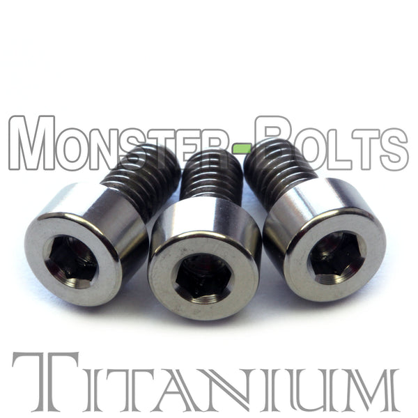 Titanium Guitar Locking Nut Screws - Floyd Rose Tremolo - Monster Bolts