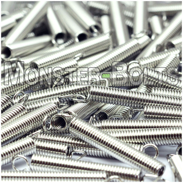 Premium Guitar Tremolo Springs For Floyd Rose & Fender Stratocaster Style guitars - Monster Bolts