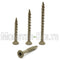 #8 Star (Torx) Drive Flat Head w/ Nibs, WAR coated steel Coarse Thread Type '17' point, for ACQ Treated lumber - Monster Bolts