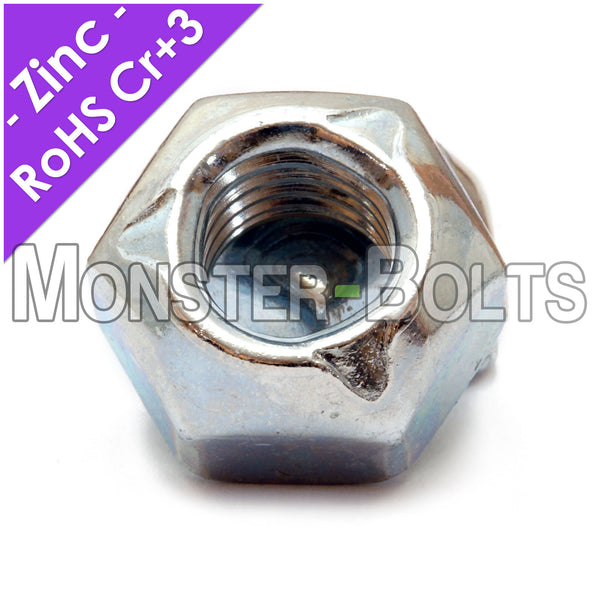 DIN 980V Hex Cone Prevailing Torque All-Metal Lock Nuts Stover - Zinc Plated Alloy Steel, Metric Class 10 Cr+3 RoHS