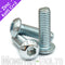 M5 Button Head Socket Cap screws, Zinc Plated 12.9 Alloy Steel - Monster Bolts