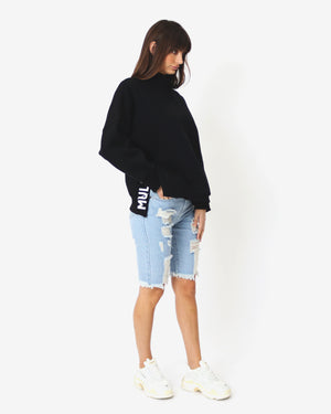 Split Jumper - Black - MULR