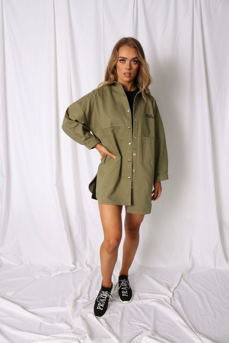 3rd Quarter Shirt Jacket - Khaki - MULR