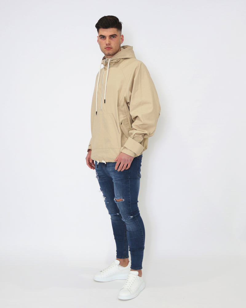 Pushing Boundaries Spray Jacket - Sand - MULR