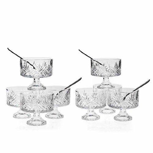 Godinger Dublin Tasters Trifle 16 Pc Set