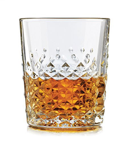 Libbey 56616 4-Piece Perfect Scotch Glass, 12-Ounce