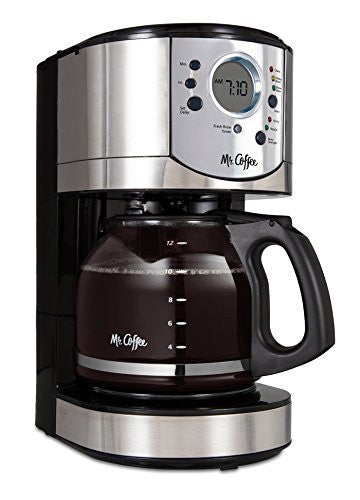 Mr. Coffee 12-Cup Programmable Coffee Brewer with Brew Strength Selector, CJX31
