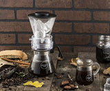 "Osaka 4 Cup (20oz/600ml) Cold Brew Coffee Dripper, Adjustable Dripper with Glass Carafe ""Mount-fuji"""
