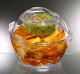 Prodyne Iced Up Salad to Go Carry and Serve Bowl