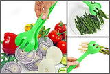Salad Servers, Salad Hands, Kitchen Tongs for Cooking Multifunctional Set of 2 - 11 Inch. Bonus- ebook «Top 10 best recipes for salads and fruit salads» by GET & COOK