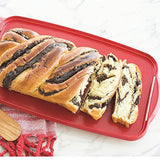 Nordic Ware Loaf Cake Keeper, Red