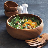 Sur La Table Acacia Wood Salad Bowl MST 490-591S