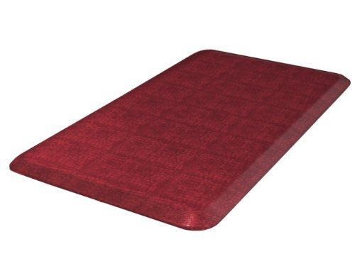 NewLife by GelPro Designer Comfort Mat, 20 by 32-Inch, Pebble Pomegranate