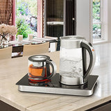 SMAL WK-0815 Tea/Coffee Station with Stainless Steel Water Kettle and Tea/Coffee Maker,3 in 1