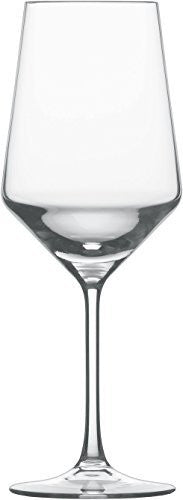 Schott Zwiesel Tritan Crystal Glass Stemware Pure Collection Cabernet/All Purpose Red or White Wine Glass, 18.2-Ounce, Set of 2