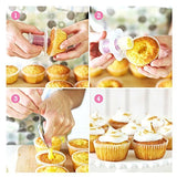 Great Deal(TM) Kitchen Cupcake Plunger Cutter Pastry Corer Decorating Divider Cake