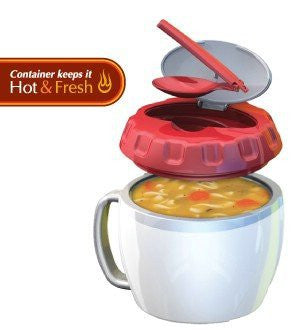 Stay Fit Soup/Meal Container , EZ Heat