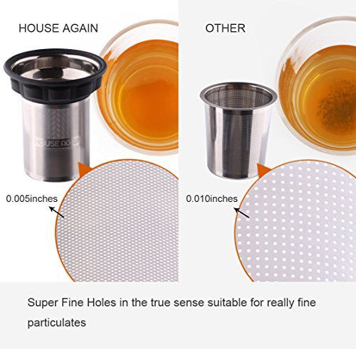 Home Appliance Parts Mesh Tea Infuser Stainless Steel Filter Extra Fine Mesh Fits Standard Cups Mugs Teapots For Brewing Steeping Loose Tea Various Styles Home Appliances