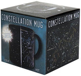 Heat Changing Constellation Mug by The Unemployed Philosophers Guild - Stars Appear in the Night Sky on this Color Changing Coffee Cup - 10 OZ - BPA Free Ceramic - Comes in a Fun Colorful Gift Box
