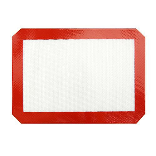 New Star 36633 Commercial Grade Silicone Baking Mat Non-Stick Pan Liner, 8 by 12-Inch, Quarter Size