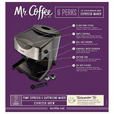 Mr. Coffee Automatic Dual Shot Espresso/Cappuccino System, ECMP50