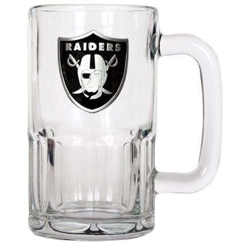 NFL Oakland Raiders 20-Ounce Root Beer Style Mug - Primary Logo