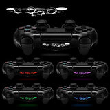 eXtremeRate® 60 Pcs/Set Custom Game Light Bar Vinyl Stickers Decal Led Lightbar Cover for Sony Playstation 4 Dualshock 4 PS4 PS4 Slim PS4 Pro Controller skins