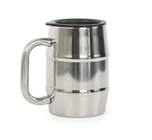 ManMug.com  Man Mug Stainless Steel, 16.9 Ounce