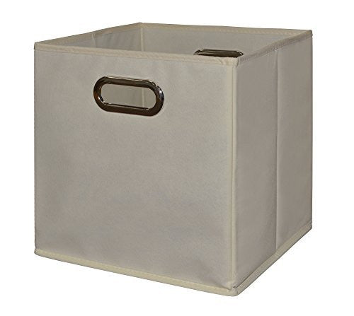 Niche Cubo Foldable Fabric Storage Bin, Beige