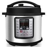 Instant Cooker IC60 7-in-1 Multi-Functional Programmable Pressure Cooker, 6Qt/1000W