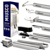 Miusco Stainless Steel Kitchen Utensil Tools and Gadgets Set