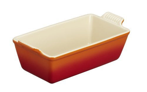 Le Creuset Heritage Stoneware 1 1/2qt Loaf Pan, Flame