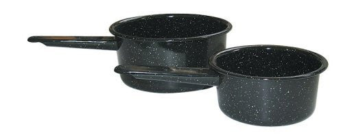 Granite Ware 6148-2 Saucepan Set, 1-Quart and 2-Quart