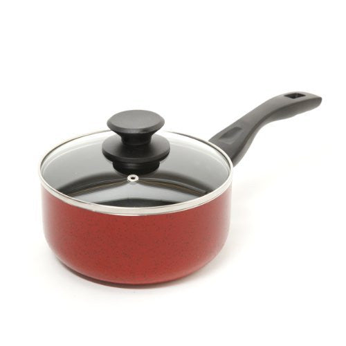 Oster 91115.02 Telford Covered Sauce Pan, 2.5-Quart, Red
