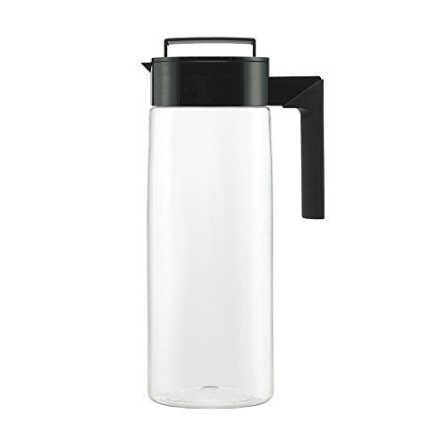 Takeya Airtight Pitcher, 2-Quart, Black