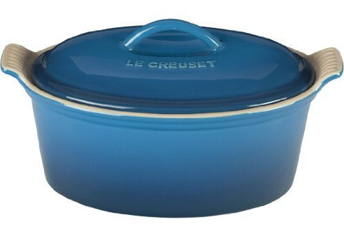 Le Creuset Heritage Stoneware 1 1/5qt Covered Oval Terrine, Marseille