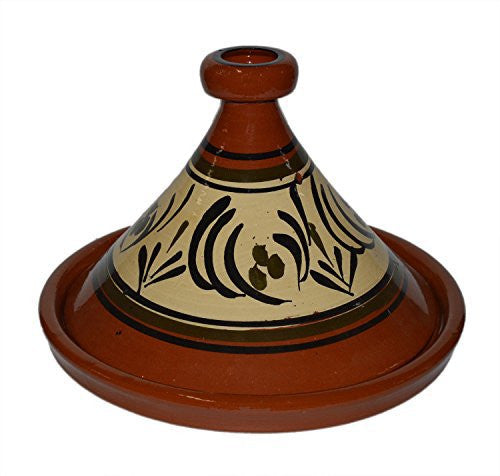 Moroccan Large Cooking Tagine Lead Free