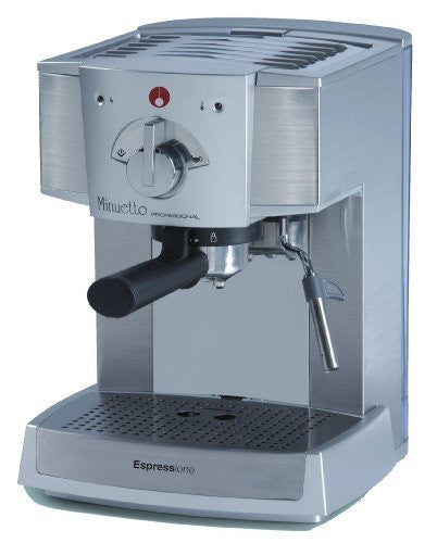 Espressione Café Minuetto Professional Thermoblock Espresso Machine, Silver (Certified Refurbished)