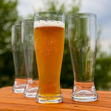 Lily's Home Tritan Unbreakable Shatterproof Outdoor Beer Glasses - Set of 4, 18 Ounces