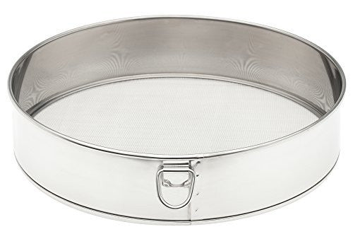 Harold Import Company 0049 Mrs. Anderson's Baking Tamis Mesh Sifter, Stainless