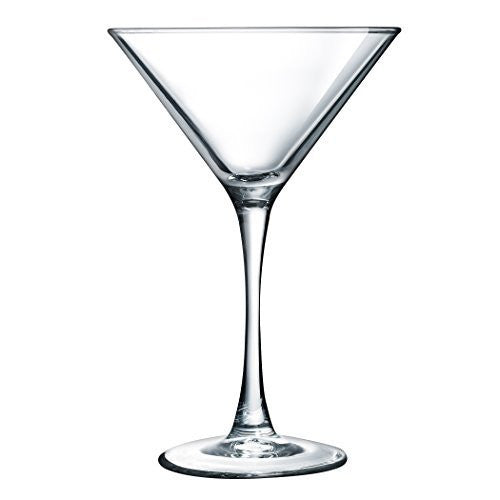 Luminarc ARC International Atlas Martini Glass (Set of 4), 7.5 oz, Clear