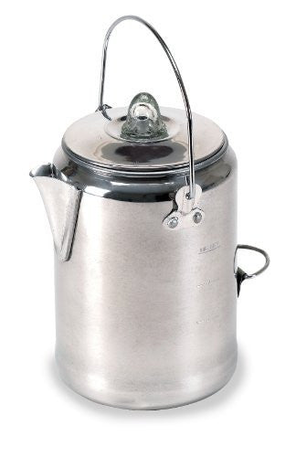 Stansport Outdoor 277 9 Cup Aluminum Camper-Feets Percolator Coffee Pot