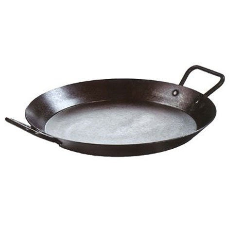 Lodge CRS15 Carbon Steel Skillet, Pre-Seasoned, 15-inch