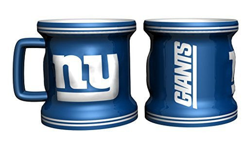 New York Giants Sculpted Mini Mug Shot Glass