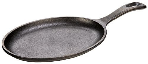 Lodge LOS3 Cast Iron Oval Serving  Griddle