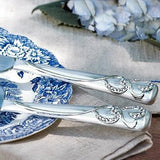 Hortense B. Hewitt Wedding Accessories Sparkling Love Silver-Plated Cake Knife and Server Set